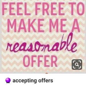 Reasonable offer